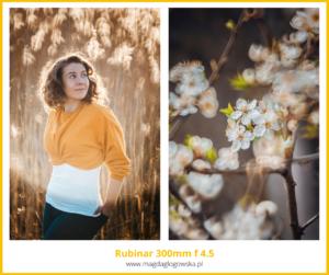Najlepszy obiektyw doportretu Rubinar 300 mm f 4.5